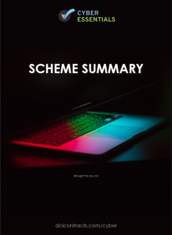 Cyber Essentials Scheme Summary